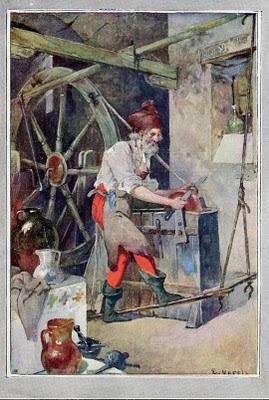 AFILADOR 1912 VARELA HOJA REVISTA blanco y negro